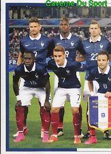 022 SQUADRA TEAM EQUIPE FRANCE 1/2 STICKER EURO 2016 FIERS D'ETRE BLEUS PANINI