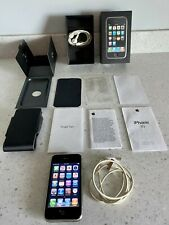 Apple iPhone 3G (AT&T) Vintage RARE Collectible Lot (it Works!) With case