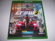 Original Box Case Xbox One XB1 - THE CREW 2 Two