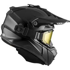 CKX 2020 Titan Solid / Carbon Modular Off-Road Snowmobile Helmet