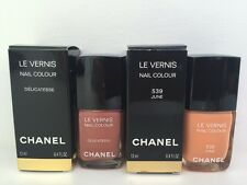 Chanel  Set of 2 Nail Polish NWB DelicatesseAnd June Limited Edition