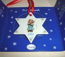 Hummel Goebel Joyful Recital Christmas Tree Ornament 2001 #1718 Hum 2098/B New!