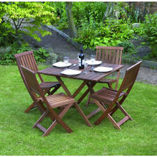 Kingfisher Wooden Pieces Garden & Patio Furniture Sets 5