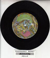 "PRINCE & THE REVOLUTION Raspberry Beret & Hello 7"" 45 rpm vinyl record"