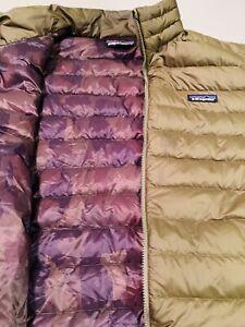 Patagonia Down Jacket Mens Size XL  Winter Coat Gret Full Zip