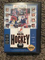 NHLPA Hockey '93 (Sega Genesis, 1992) ✅CIB/Complete ✅Tested