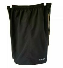 NEW WITH TAGS SANTIC Mens Padded Mountain Bike Shorts Baggy Black Cycling 2XL