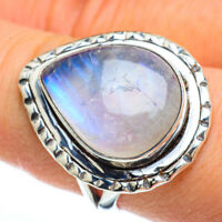 Rainbow Moonstone 925 Sterling Silver Ring Size 8.5 Ana Co Jewelry R44924F