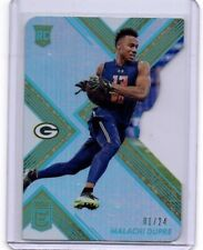 Malachi Dupre  # 1 / 24 Donruss Elite 2017 ROOKIE CARD RC Packers