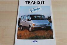 103895) Ford Transit Kombi Bus Euroline Prospekt 08/1992