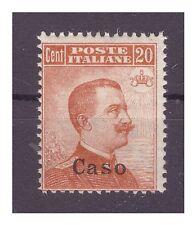 ISOLE EGEO  CASO   1921 -  Centesimi  20  NUOVO **