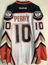 Reebok Premier NHL Jersey Anaheim Ducks Corey Perry White sz L
