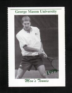 George Mason Patriots--1999 Tennis Schedule--Giant