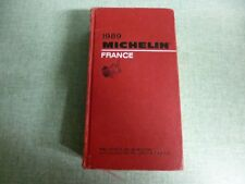 guide Michelin rouge 1989
