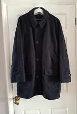 """Mens Marks and Spencer Wool Coat, lined, zip and buttons, 41-43"""" chest, 6 pocket"""