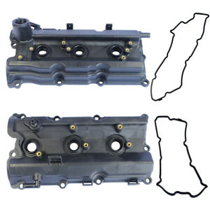 New Left & Right Engine Valve Covers for 2003-06 Nissan 350Z /03-06 G35 V6 3.5L