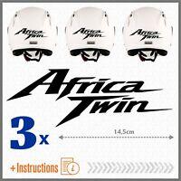 3x Africa Twin Nero HONDA CRF1000L ADESIVI CRF 1000 L 2016 CRF1000 MOTO