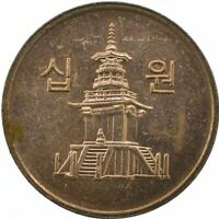 COIN / SOUTH KOREA / 10 WON 2009   #WT22871