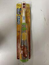 Braun Oral-B Kids Stages Advance Power Battery Toothbrush Disney Pixar Cars