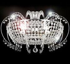 Deckenlampe Kristall Klassisch Kronleuchter Strass Lüster Deckenleuchte 58 cm