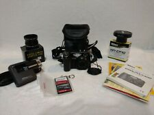 Nikon Coolpix 5400 Digital Camera, Adapter Tube, Lens Hood, Case, Manuals, Card