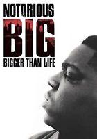 RLJ DISTRIBUTION SOLUTION D4157D NOTORIOUS BIG-BIGGER THAN LIFE (DVD) DOL DIG...