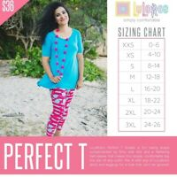LuLaRoe Perfect T Mystery All Sizes available XXS XS S M NEW NWT