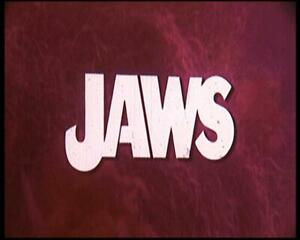 'Jaws'  `16mm Feature Film. A Spielberg Classic