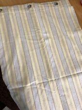 Shower Curtain, Restoration Hardware SHOWER CURTAIN, Striped Yellow Cotton 72x72