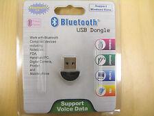 NEW Mini USB 2.0 Bluetooth V2.0 EDR Dongle Wireless Adapter
