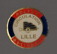 Pin's Police Nationale / Circulation Lille