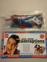 LEGO CRAZY ACTION CONTRAPTIONS 1998 INVENTIONS BOOK w/ 60 TECHNIC pcs KLUTZ NEW