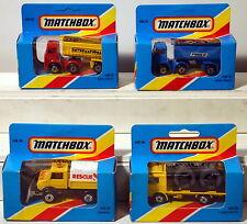 DTE 4 HTF BLUE BOX MATCHBOX SUPERFAST 26, (2) 30, & 48 NIOB