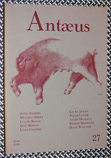 Antaeus Lit Journal, Jane Bowles, Italo Calvino, Philip Levine, 1977