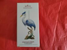 Hallmark 2019 Great Blue Heron The Beauty of Birds 15th Anniversary Ornament