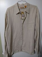 Men's havanera co shirt 2XL Long Sleeve new with tags