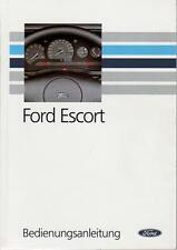 FORD ESCORT CABRIO Betriebsanleitung 1990 Bedienungsanleitung Handbuch MK5  BA