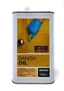 BARRETTINE NOURISH AND PROTECT DANISH OIL 1 LITRE TIN