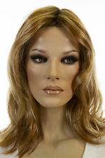 Minka 14/26S10 Blonde Medium Lace Front Light Weight Monofilament Jon Renau Wigs