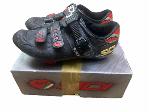 Sidi Womens Cycling Shoes Size EU 41 US 7.5  W Womens Black and Red $269 MSRP