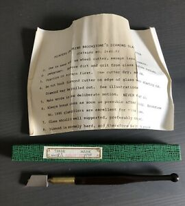 New ListingVintage Brookstone Diamond Glass Cutter 2A Made in Japan Catalog #1641with Box