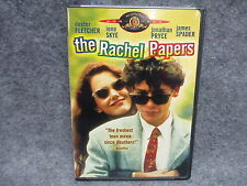 The Rachel Papers DVD Widescreen 1989 MGM Studios Rated R Excellent Condition