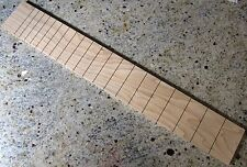 Slotted Guitar Fretboard  West Virginia Maple USA Luthier Made Martin Std. Scale