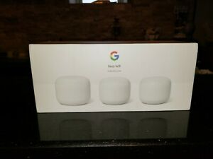 Google Nest WiFi Router and 2 Points (3 PACK) - Snow - Latest Generation!!!