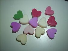 12 x SOY WAX MELT HEARTS # U Choose Scent # Each Up to 10Hr - MADE IN AUSTRALIA