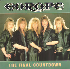"EUROPE ‎– The Final Countdown (1986 VINYL SINGLE 7"" HOLLAND)"