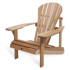 All Things Cedar AT20 Wood Western Red Cedar Outdoor Adirondack Chair