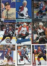 9-adam deadmarsh all colorado avalanche card lot nice mix
