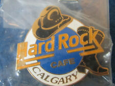 More details for hard rock cafe enamel badge - calgary - 1996 edition - closed 2000