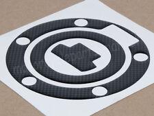 Carbon Fuel Gas Cap Pad Sticker Decal For Yamaha YZF R6 R1 YZ 250 FZ1 2001-2012